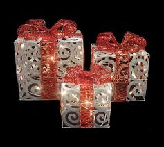 indoor lighted gift boxes peaceful ideas lighted christmas presents indoor yard diy decoration