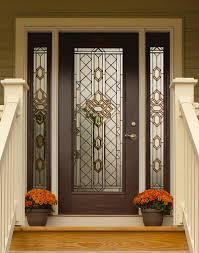 Door Design Decorations Brilliant Beleved Glass Home Entry Door Design With