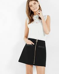 3 inches below the knee flattering skirts for every height
