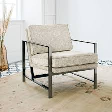 Armchair Frame Metal Frame Chair West Elm