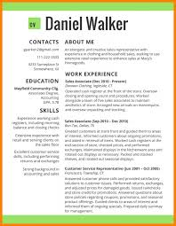 Clothing Store Sales Associate Resume Resume Trends Resume For Your Job Application