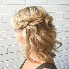 half up hald down braid wedding hair style
