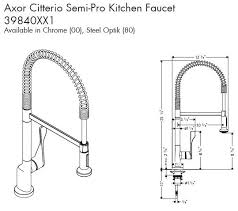 axor citterio kitchen faucet universal ceramic tiles new york kitchens kitchen