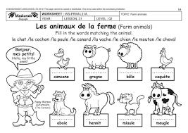 worksheet 718957 farm animals worksheets kindergarten