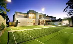 Backyard Tennis Courts by Tennis Court Equipment Courtney Tennis760