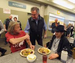 special thanksgiving dinner at calgary drop in centre