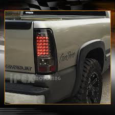 2004 silverado tail lights for 03 06 chevy silverado halo projector black headlights led tail