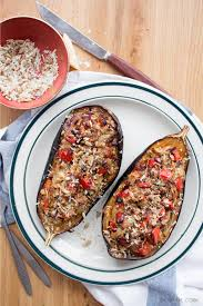 mediterranean style stuffed eggplant in 25 u0027 shoot the cook