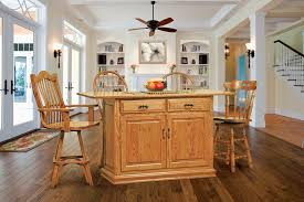 kitchen island oak oak kitchen island in golden oak