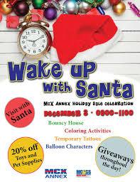 wake up with santa annex holiday sale celebration u2013 marine corps