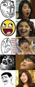 Snsd Funny Memes - girls generation members doppelgangers found in internet memes