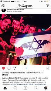 Avenged Sevenfold Flag A7x Israel A7xisrael Twitter