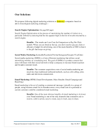 digital marketing proposal format