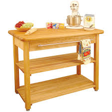 Stationary Kitchen Island by Amazon Com Catskill Craftsmen Contemporary Harvest Table Kitchen