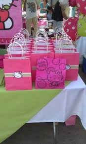 hello gift bags hello birthday party favor bags girl and boy