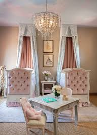 Decorating With Chandeliers Inspiration Baby Girl Nursery Chandelier For Home Design Furniture