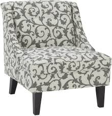 Grey And White Accent Chair Kexlor Gray Accent Chair From Ashley Coleman Furniture
