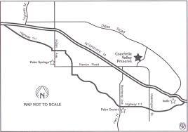 Joshua Tree California Map Thousand Palms Oasis Preserve In The Coachella Valley Preserve