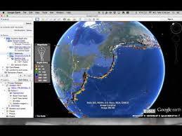 continental drift google earth
