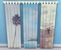 kitchen window coverings 3 beach themed window curtains home