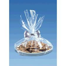 cellophane cookie tray bag clear 1ct value