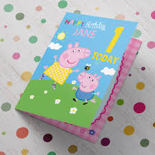 personalised 1st birthday cards card factory