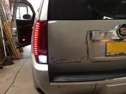 cadillac escalade tail lights bespoke lighting brightlightcustoms