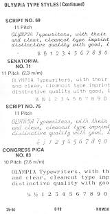 1964 nomda blue book olympia font styles u2013 to type shoot