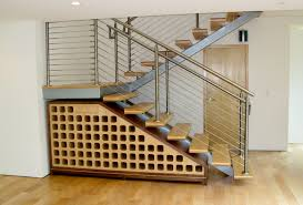 awesome charmingly wine bottle storage racks built under staircase