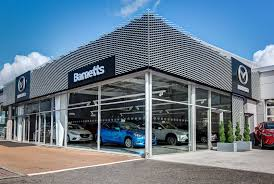mazda cars uk mazda dealership showcases brand u0027s fresh new exterior look car