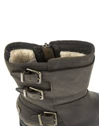 womens ugg biker boots ugg s wilcox leather biker boots stout country attire