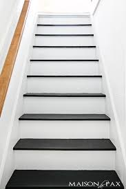 black staircase 19 painted staircase ideas for your home decor inspiration