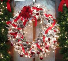 large outdoor lighted wreaths home design and decorating