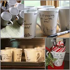 dollar store mugs your child u0027s handwriting u003d a great