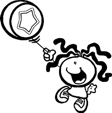 bubblegum kids kids coloring page wecoloringpage