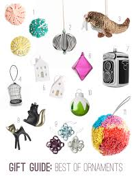 gift guide 20 ornaments to hang on your tree this year paper