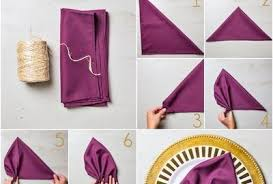 how to make table napkins 28 napkin folding techniques that will transform your dinner table