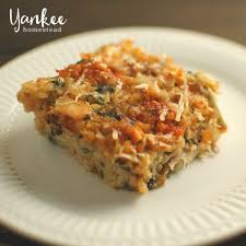 gluten free leftover turkey and rice casserole yankee homestead