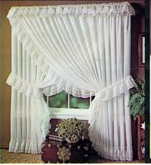 Rodeo Home Drapes by Criss Cross Curtains Stacey One Rod Criss Cross Ruffled Priscilla