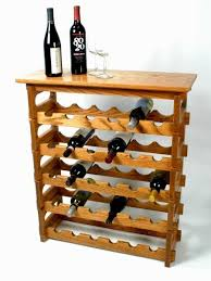 console table with wine rack 5 level wine rack with table top