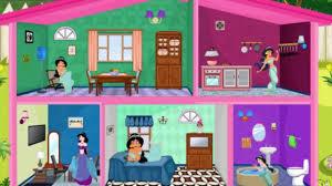Barbie Room Game - princess jasmine doll house decor play the game online