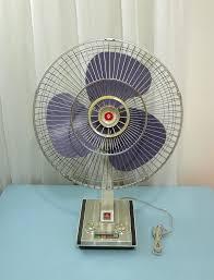 Antique Desk Fan by 60 U0027s Mitsubishi Desk Fan 16