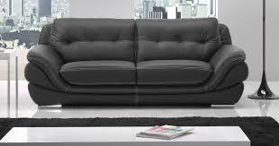 canapé cuir gris anthracite mexico cuir buffle ou vachette personnalisable sur univers du cuir