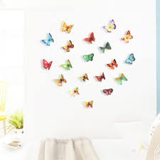 online get cheap wall murals sale aliexpress com alibaba group oujing 3d diy butterfly pvc art decal home decor kids room wall mural stickers 23
