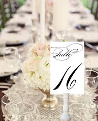 party table number cards wedding printable paper goods on luulla