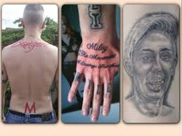 totally not creepy guy only has 22 miley cyrus tattoos