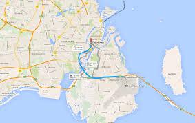 Copenhagen Metro Map by Copenhagen Shore Excursions