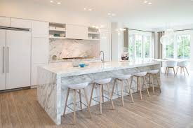 white marble kitchen island white marble island houzz