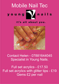 young nails a5 flyer by leharts on deviantart