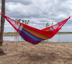 rainbow hammock xl short colour 1 marañon world of hammocks